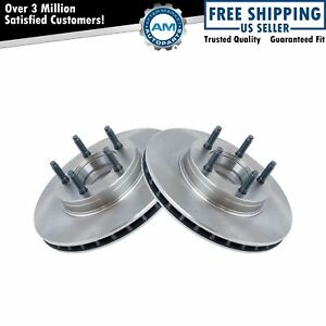 Front Disc Brake Rotor Pair For Ford Ranger Mazda Pickup 4wd 4x4 W Abs