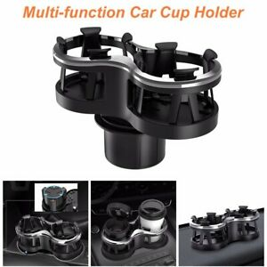 Universal Car Seat Cup 2 Holder Drink Beverage Coffee Auto Truck Bottle Mount Us