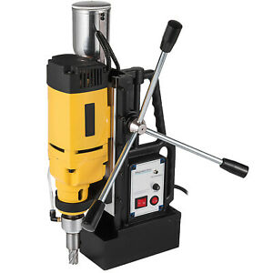 1680w Md 50 Magnetic Drill Press 2 Boring 2900 Lbs Magnet Force Tapping
