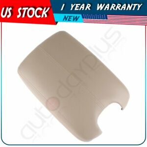 For 2008 12 Honda Accord Arm Rest Center Console Lid Cover W Base Beige