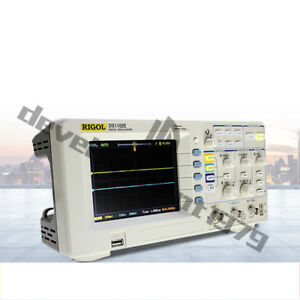 New Rigol Digital Storage Oscilloscope Ds1102e 100mhz 1gs s 2 channels Brand