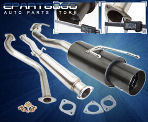 For 90 93 Accord Jdm High Performance 3 Catback Exhaust Muffler System Assembly