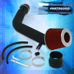 For 03 07 Accord 3 0l Performance Cold Air Induction Intake Filter System Black