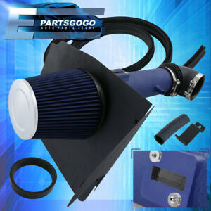 For 2012 2015 Camaro Ls Lt 3 6l V6 Air Intake Induction Heat Shield Blue Pipe
