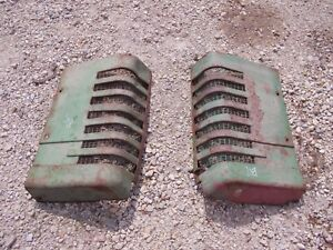 John Deere B Styled Tractor Orgnl Jd Front Nose Cone Grill Hood Panel Panels B11