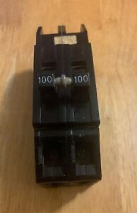 Zinsco Sylvania Gte 100 Amp 2 Pole Rc38al Circuit Breaker Used fast Shipping