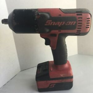 Snap On Ct8850 18v 1 2 Drive Cordless Lithium Impact Wrench With Battery