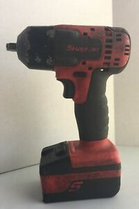 Snap On Ct8810b 3 8 Drive 18v Lithium Ion Cordless Impact Driver W 4ah Battery