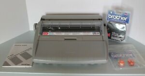 Brother Sx 4000 Electronic Dictionary Typewriter Tested With Extra Ink And Tape