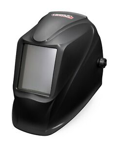 Lincoln Viking Industrial Passive Shade 11 Black Welding Helmet K3371 1