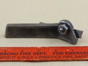 Nice 9 591 Right Hand Angle Cut Off Tool With Blade 4 Lathe Machinist