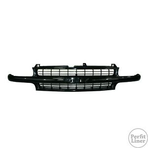 Black Grille For 99 02 Chevy Suburban 1500 2500 Silverado 1500 2500 Truck Tahoe