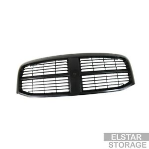 Front Black Grille Replacement For 06 09 Dodge Ram Pickup Truck 1500 2500 3500