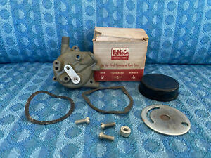 1956 1957 Ford Mercury T bird Nos Dual Quad Supercharger Choke Assy b6a 9850 a