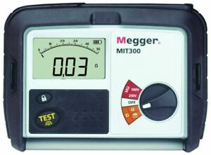 Megger Mit300 en Insulation Tester Lcd With Backlight Display