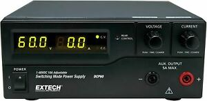 Extech Dcp60 220 Single Output 220v Lab Grade Switching Power Supply