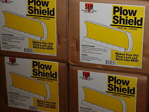 Snow Plow Shield Poly Liner Blade 4x4 Atv Meyer Buyers 1310020 Yellow For Meyer