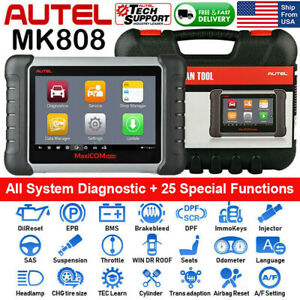 Autel Mk808 As Ds808 Obd2 Scanner Auto Diagnostic Tool Code Reader Key Coding