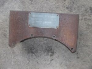 Mccormick Farmall F30 Ih Tractor Original Tool Box Holder Serial Number Tag
