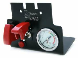 Nitrous Outlet 98 02 F body Console Switch Panel With Small Gauge