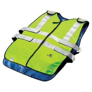 Techniche 6626 Ansi Class 2 Phase Change Cooling Traffic Safety Vest 2xl