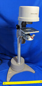 Rare Bausch Lomb Inverted Microscope Stand Mid Century Base Lamp Repurpose