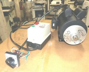 3 Hp Motor From Accura 02330 Wood Shaper W Pulley Starter