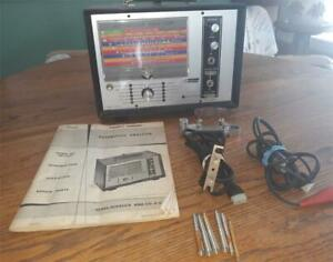 Nice Vintage Sears penske 244 21033 Automotive Analyzer W Accessories Manual
