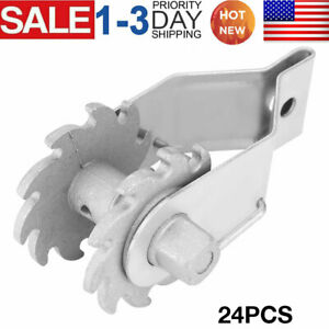 24 Pcs Inline Ratchet Wire Strainer Tensioner Fencing Electric Farm Fence Us New