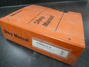 Doosan Daewoo Dx300lc 3 Hydraulic Excavator Shop Service Repair Manual 1001 up