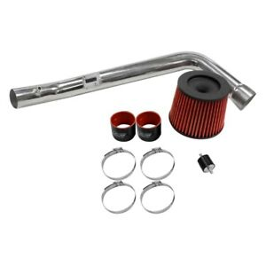 Dc Sports Cai4214 Aluminum Powder Coated Silver Cold Air Intake System