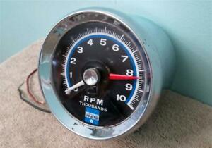 Vintage Chrysler Parts 10 000 Rpm Tachometer 3514430 Real Deal Factory Accessory