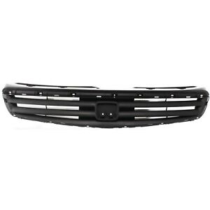 Grille Assembly For 1999 2000 Honda Civic 4 Door W Emblem Provision