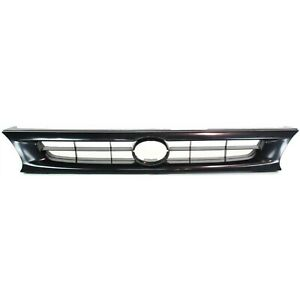 Grille For 96 97 Toyota Corolla Textured Black Plastic