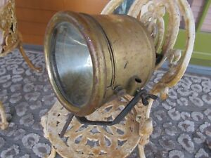 Antique Vesta Brass Era Spotlight 1900 s 1920s Car Truck Auto Marine Very Nice