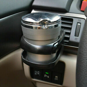 Auto Drink Cup Holder Air Vent Clip on Mount Water Bottle Stand Car Accessories