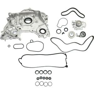 Timing Belt Kit For 1996 97 Honda Accord With Oil Pump Valve Cover Gasket