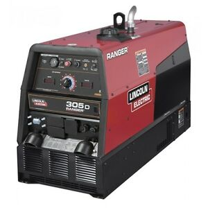 Lincoln Ranger 305d Engine Driven Welder Generator K1727 4
