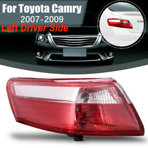 Fits For 2007 2009 Toyota Camry Outter Piece Tail Light Brake Lamp Driver Side