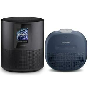 Bose Home Speaker 500Triple Black WBose SoundLink Micro Bluetooth Speaker Blue