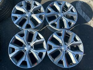 Four 2020 Hyundai Palisade Factory 20 Wheels Oem Rims 52910s8310