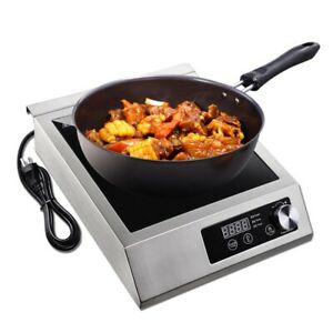 3500w Electric Induction Cooker Cooktop Hi power Commercial Digital Hot Plate