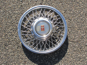 One Factory 1987 To 1990 Oldsmobile Cutlass Ciera Wire Spoke Hubcap Wheel Cover