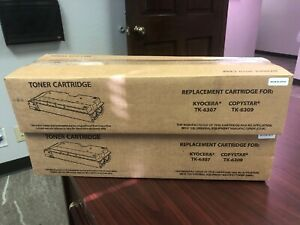 Kyocera Tk 6307 Copystar Tk 6309 Toner For Cs 3500i 4500i 5500i 3501i Lot Of 2