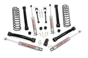 Rough Country 3 5 Susp Lift Kit 4 Jeep Grand Cherokee Zj 93 98 4 0 Engine