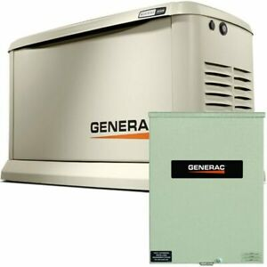 Generac Guardian trade 22kw Aluminum Standby Generator System 400a Service