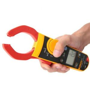 Fluke 317 Lcd Digital Clamp Meter Current Voltage Resistance Continuity Tester