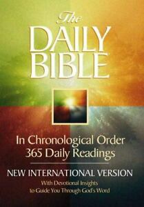 The Daily Bible In Chronological Order 365 By F Lagard Smith 1999 Paperback