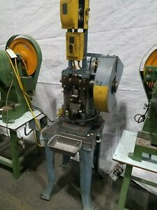 10 Ton Stamping Punch Press Stamp Forge Bend Metal Parts
