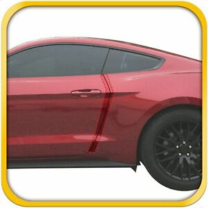 15 18 Fits Ford Mustang 2dr Invisible Door Edge Guard Pre Cut Custom Fit Clear